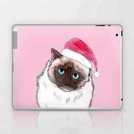 Santa Cat Laptop & iPad Skin
