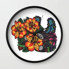 Devotion (Botanical Bliss) Wall Clock