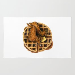 Chicken and Waffles Rug