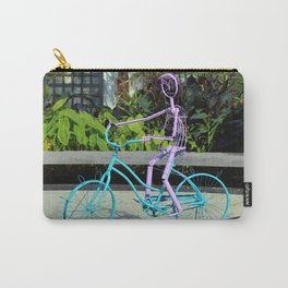 Cycling Girl Carry-All Pouch