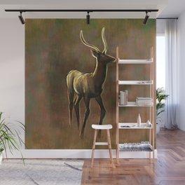 Auburn Deer Wall Mural