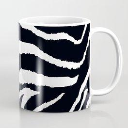 ZEBRA ANIMAL PRINT BLACK AND WHITE PATTERN Coffee Mug