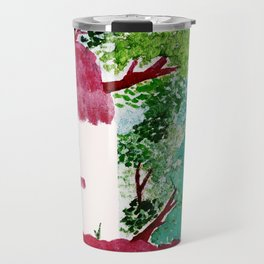 House in the woods Travel Mug