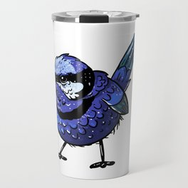 Cute Blue Wren Travel Mug