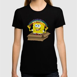 spongebob squarepants imagination T-shirt