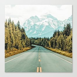Road Trip #photography #travel Canvas Print