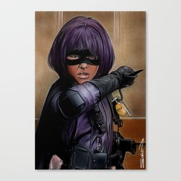 Hit Girl Canvas Print