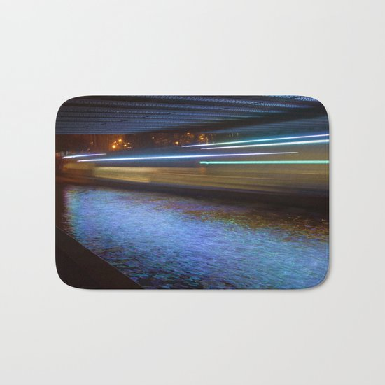 Into the Berlin Blue Night Bath Mat