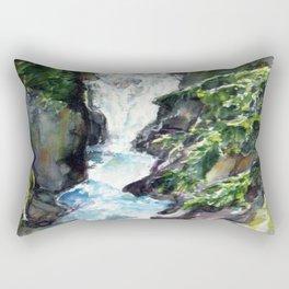 avalanche creek  Rectangular Pillow