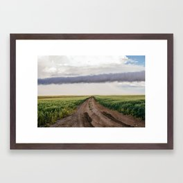 Backroads - Montana Framed Art Print
