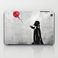banksy iPad Cases featuring Little Vader - Inspired by Banksy by kamonkey