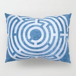 Solving Mazes Pillow Sham