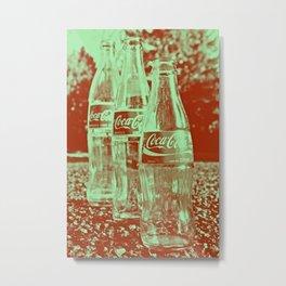 Classic cola bottles Metal Print