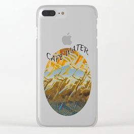 Cape Water Clear iPhone Case