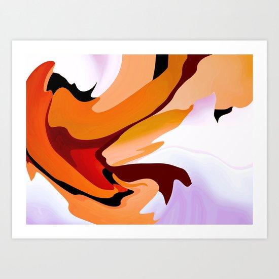 Arigula Art Print