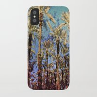 palm trees iPhone & iPod Cases featuring Palm Trees by Loveurstyle