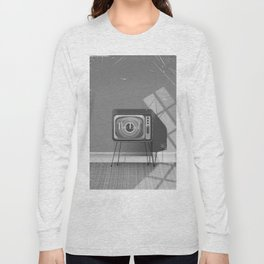 Vintage Black and white cartoon Long Sleeve T-shirt
