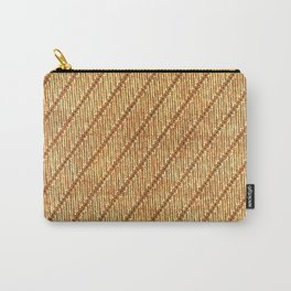 Parang Rusak Traditional Indonesian Batik Pattern Carry-All Pouch