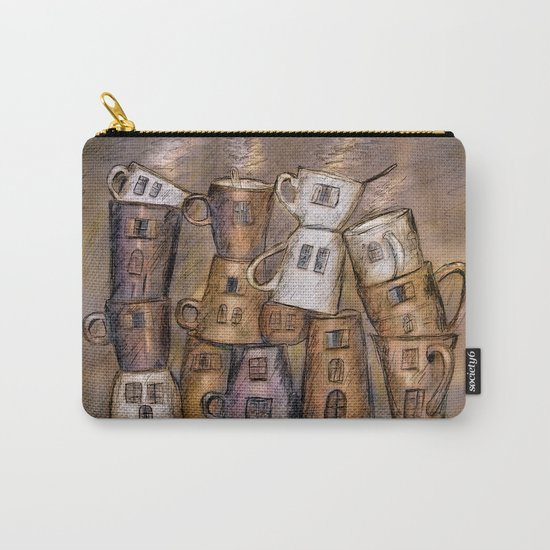 Coffeehouse - draw Carry-All Pouch