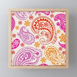 Ham Fine Grain Pattern Framed Mini Art Print