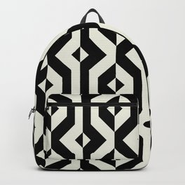 Modern bold print with diamond shapes Backpack
