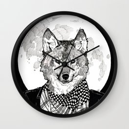 The Cryptids - Werewolf Wall Clock