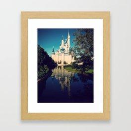 The Disney Castle  Framed Art Print