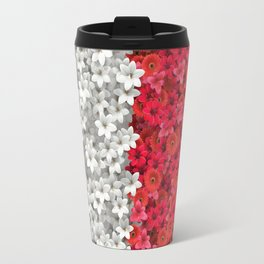 Boundary Flowers Travel Mug