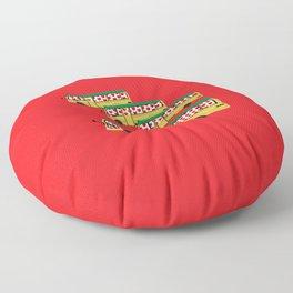 Might Minibus Floor Pillow