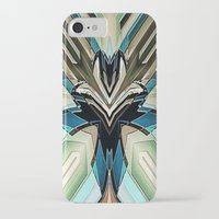 mask iPhone & iPod Cases featuring Mask by Fringeman