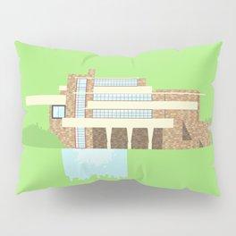 Iconic Houses - Fallingwater Pillow Sham