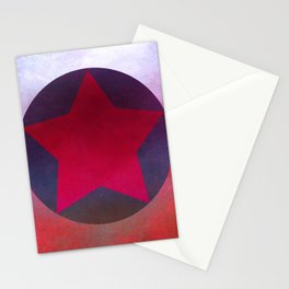 Star Composition X Stationery Cards