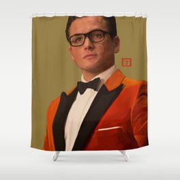 Eggsy Unwin Shower Curtain