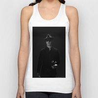 magneto Tank Tops featuring Magneto by E Cairns Art