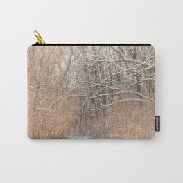 Snow Covered Trails Carry-All Pouch