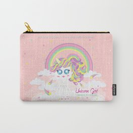 Unicorn Girl Carry-All Pouch