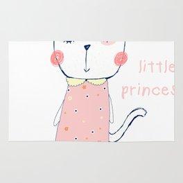 CAT CARTOON PRINCESS Rug