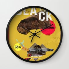 The Black Toad project Wall Clock