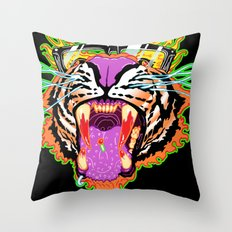 Tyger Style Throw Pillow