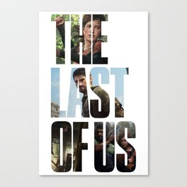 The Last of Us (Tlou Collage) Canvas Print