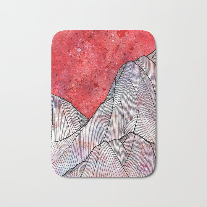 As the sky turned red Bath Mat