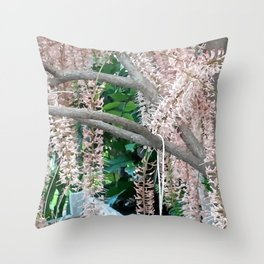 The Pecan Bloom. Throw Pillow