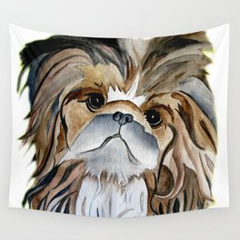 Pekingese Dog Love Dogs Wall Tapestry