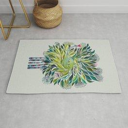 Poofy Asparagus Rug