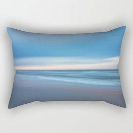 Painted Beach 1 Rectangular Pillow