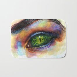 Reptile eye Bath Mat