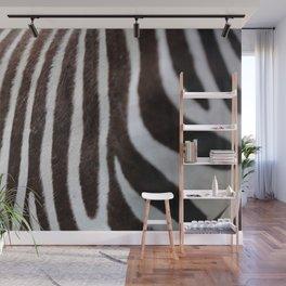 Zebra Pattern Wall Mural