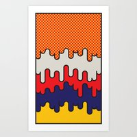 lichtenstein Art Prints featuring Lichtenstein by John Tibbott