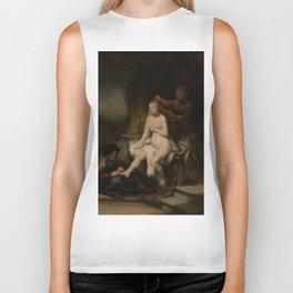 "Rembrandt Harmenszoon van Rijn, ""The Toilet of Bathsheba"", 1643 Biker Tank"