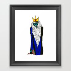 Ice King - My Mind is Changing Framed Art Print